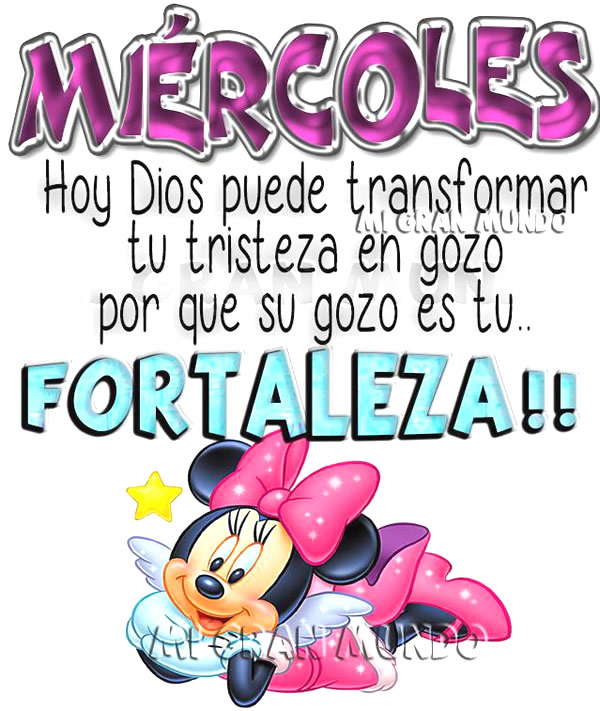 Miércoles, Hoy Dios puede transformar...