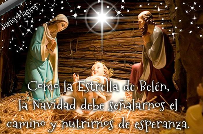 Como la Estrella de Belén, la Navidad debe señalarnos el camino y nutrirnos de esperanza