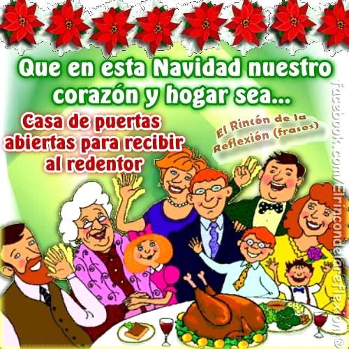 En esta Navidad casa de puertas abiertas para recibir al redentor