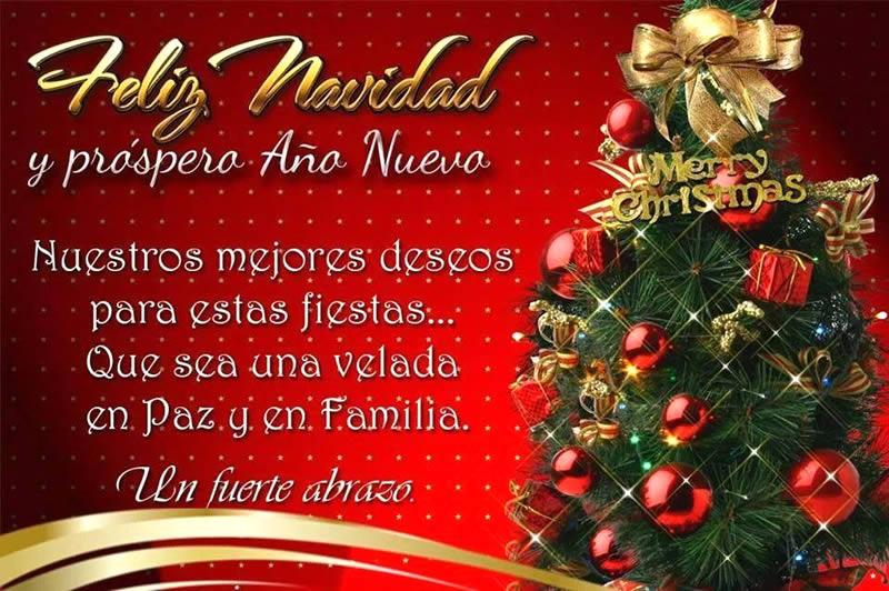 Feliz navidad y pr spero a o nuevo imagen 8574 im genes - Deseos de feliz navidad ...