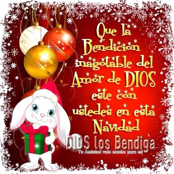 Que la Bendición de Dios esté con ustedes en esta Navidad