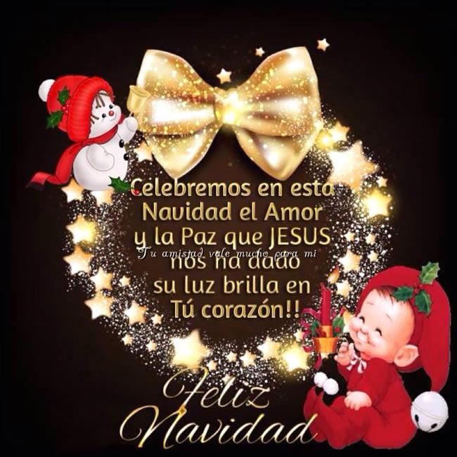 Celebremos en esta Navidad el Amor y la Paz que Jesús nos ha dado