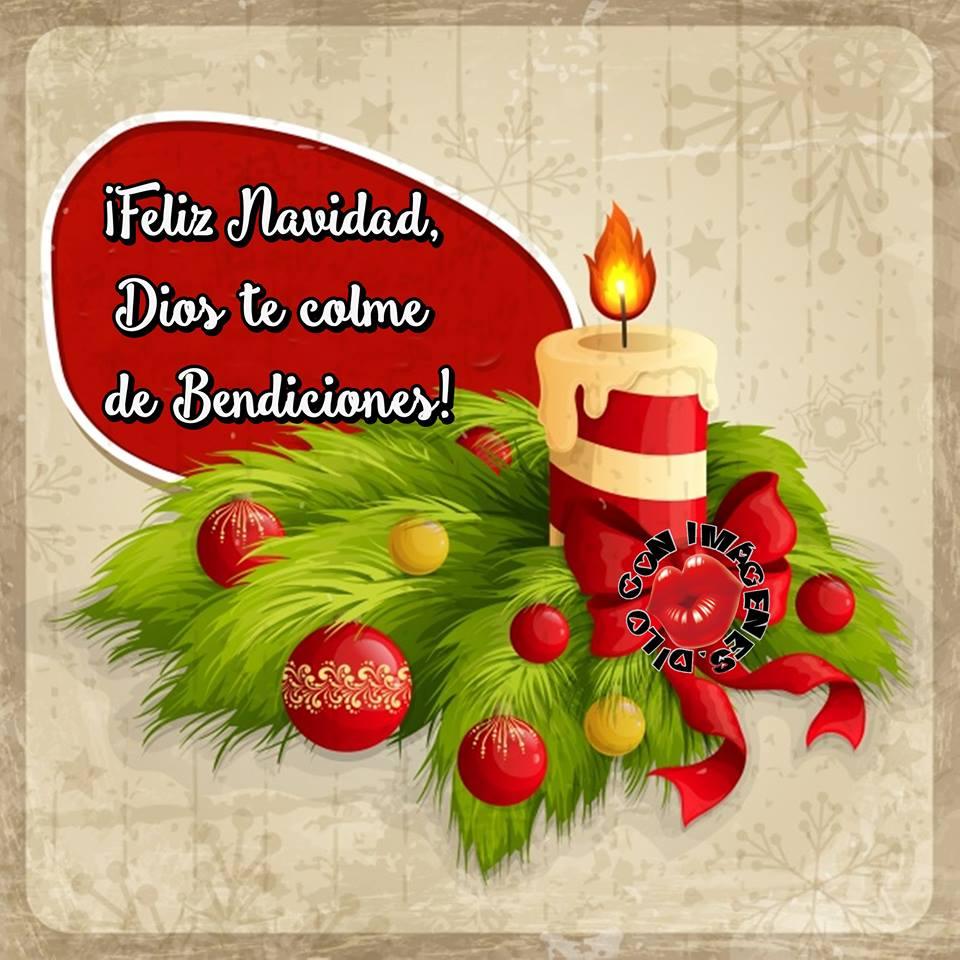 ¡Feliz Navidad, Dios te colme de Bendiciones!