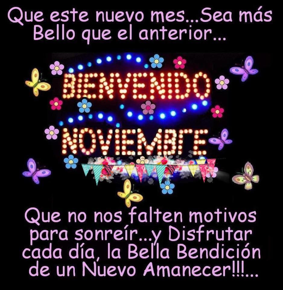 Que este nuevo mes... Sea más Bello que...