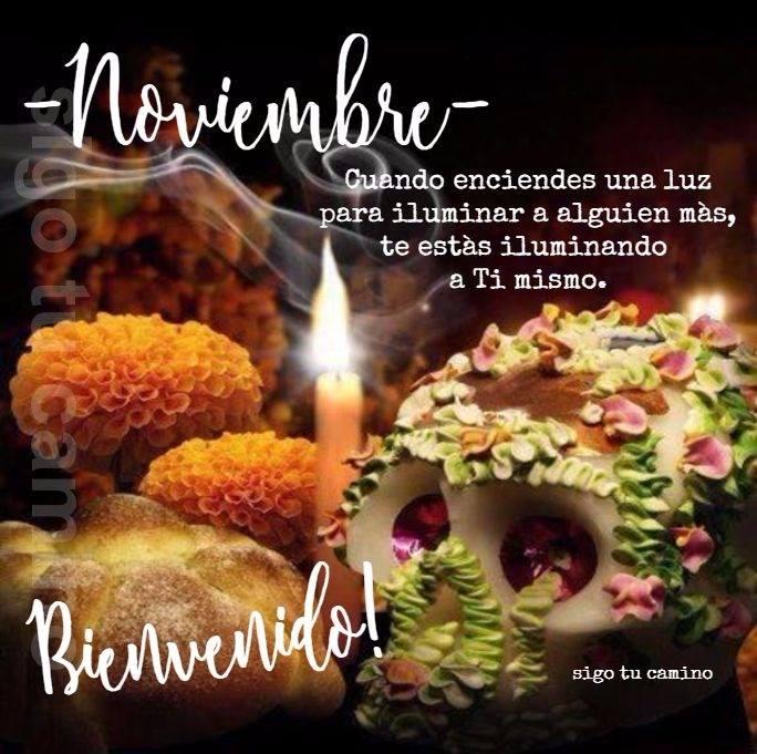 Noviembre... Bienvenido!...