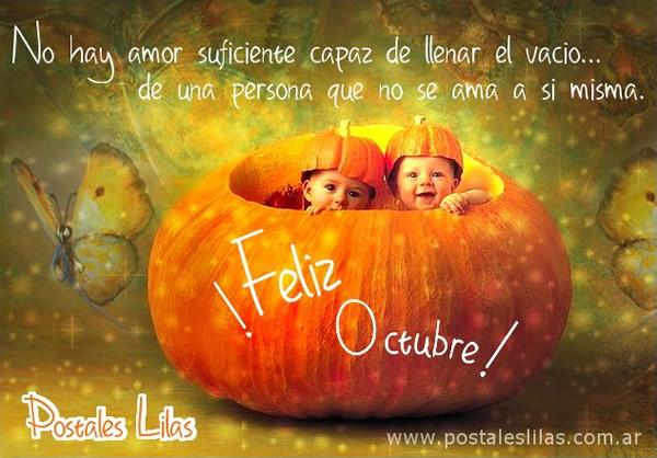 ¡Feliz Octubre!