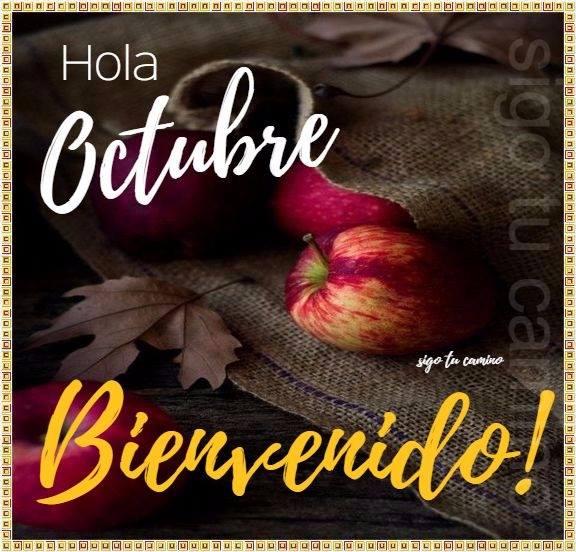 Hola Octubre. Bienvenido!