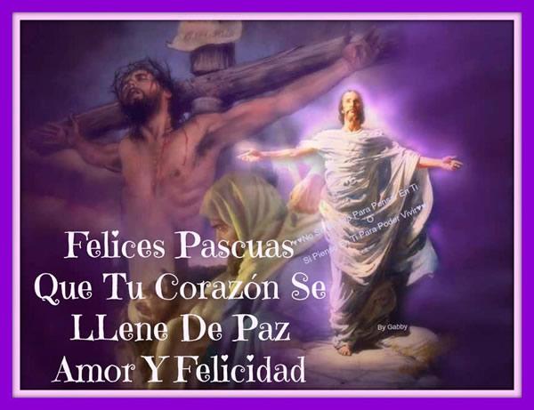 Felices Pascuas que tu corazón se llene de paz, amor y felicidad