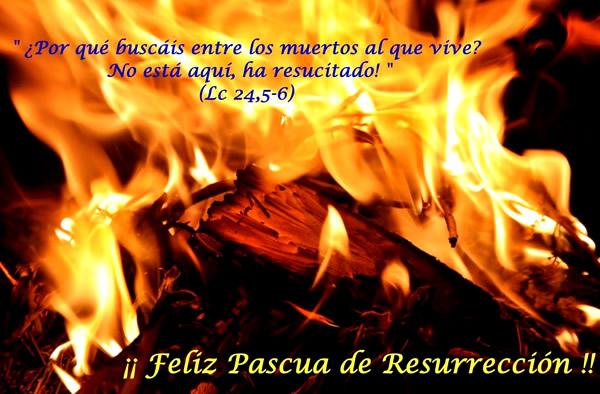 ¡¡Feliz Pascua de Resurreccion!!