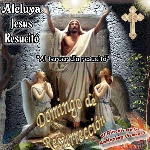 Aleluya Jésus Resucitó