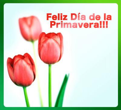Feliz Día de la Primavera!!!