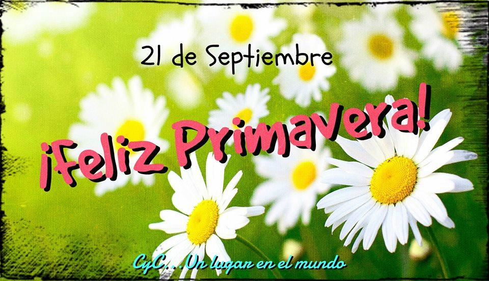 21 de Septiembre ¡Feliz Primavera!