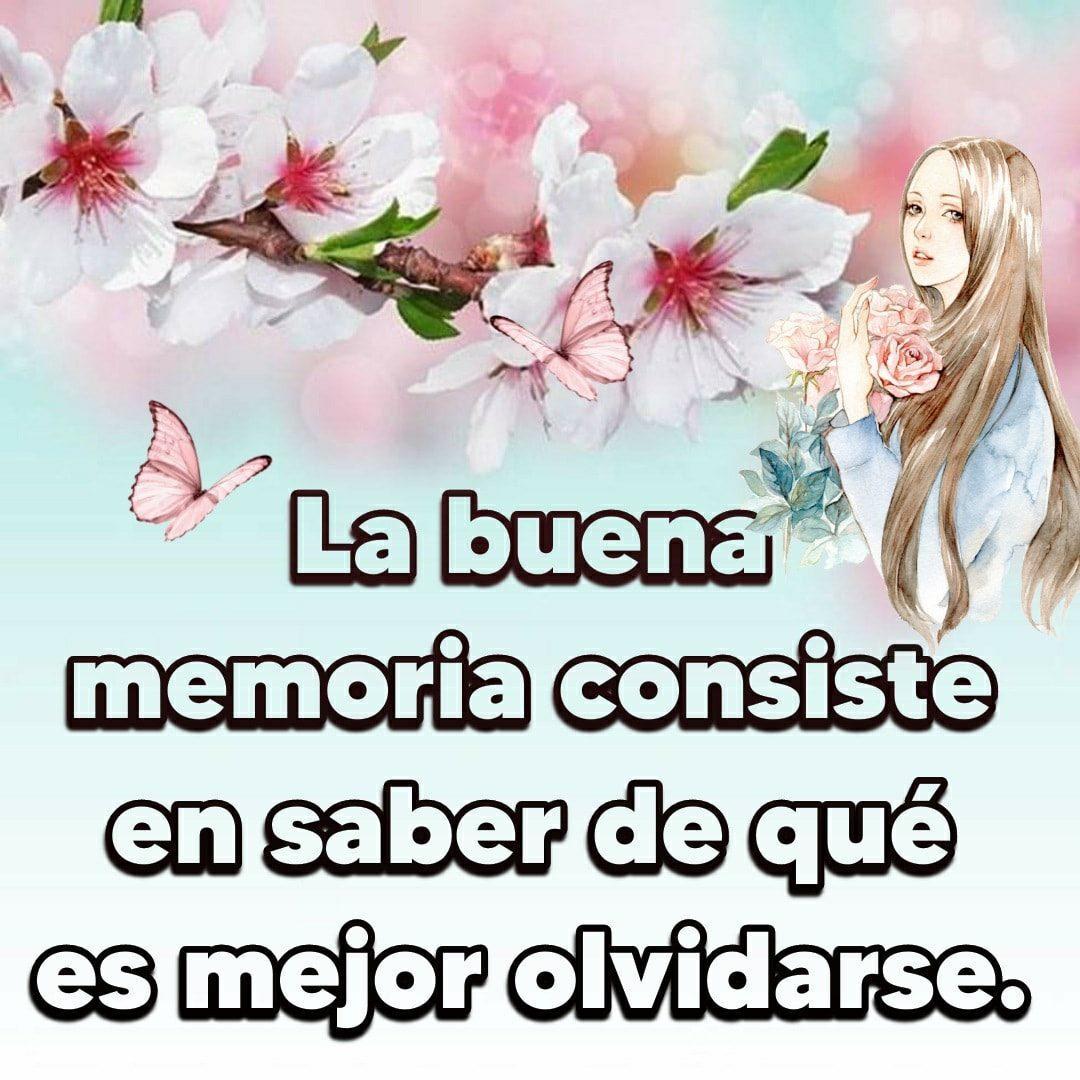 La buena memoria consiste en...