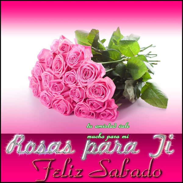 Rosas para Ti, Feliz Sábado
