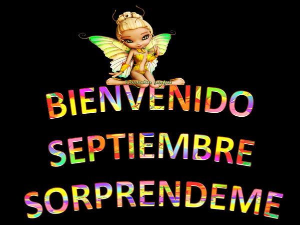 Bienvenido Septiembre! Sorprendeme
