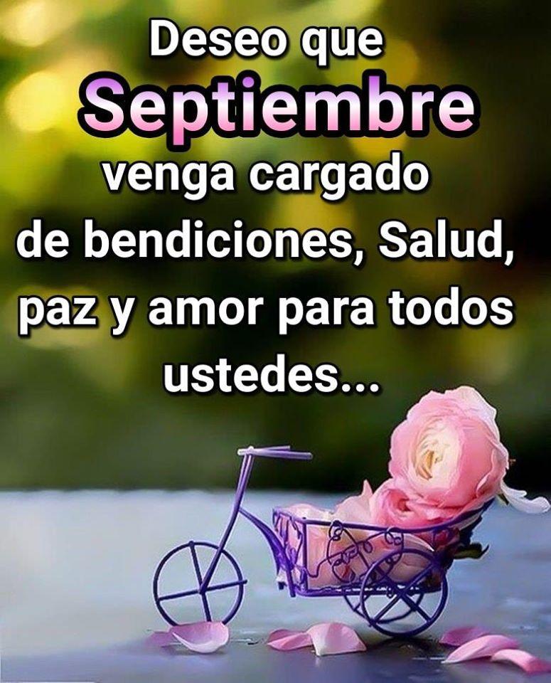 Deseo que Septiembre venga...