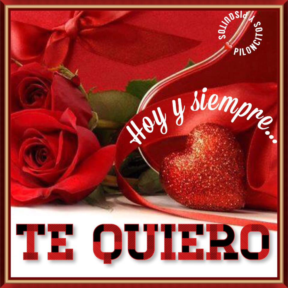 Hoy y siempre... Te Quiero
