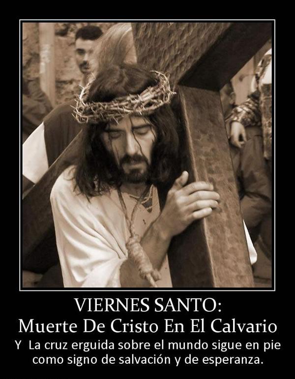 Viernes Santo... Muerte de Cristo en el Calvario