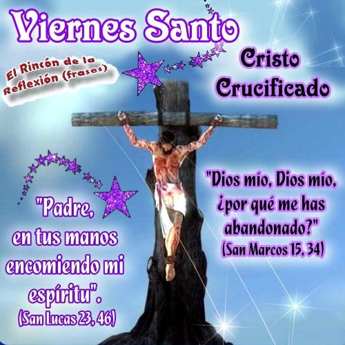 Viernes Santo... Cristo Crucificado