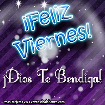 Feliz Viernes Dios Te Bendiga Imagen 2610 Imágenes Cool