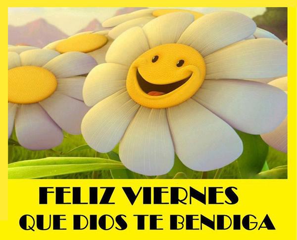 Feliz Viernes, Que Dios Te Bendiga