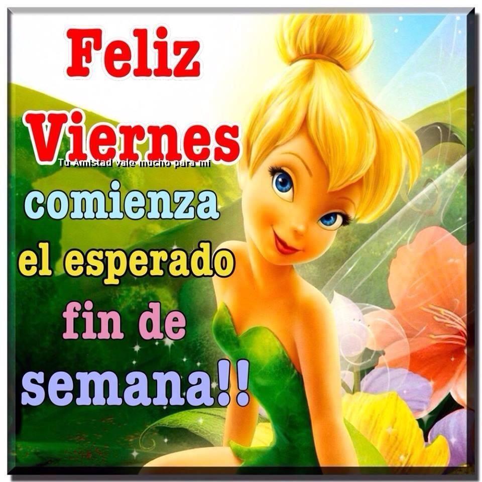 Feliz Viernes, comienza el esperado fin de semana!!
