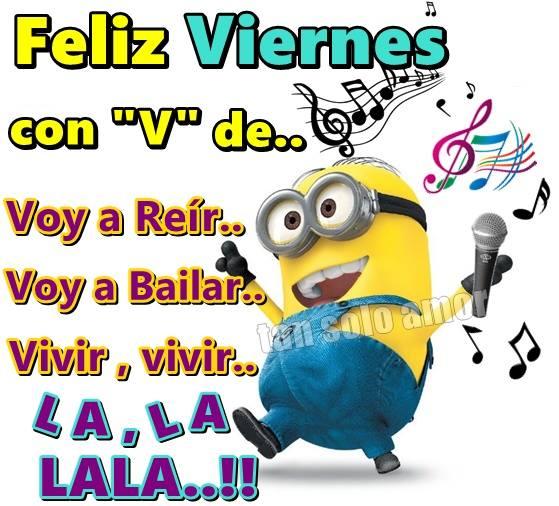 """Feliz Viernes con """"V"""" de..."""