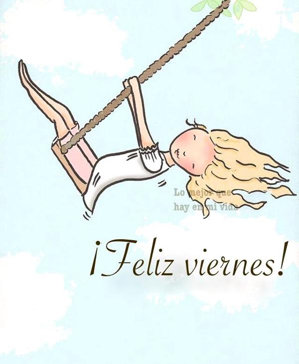 ¡Feliz viernes!